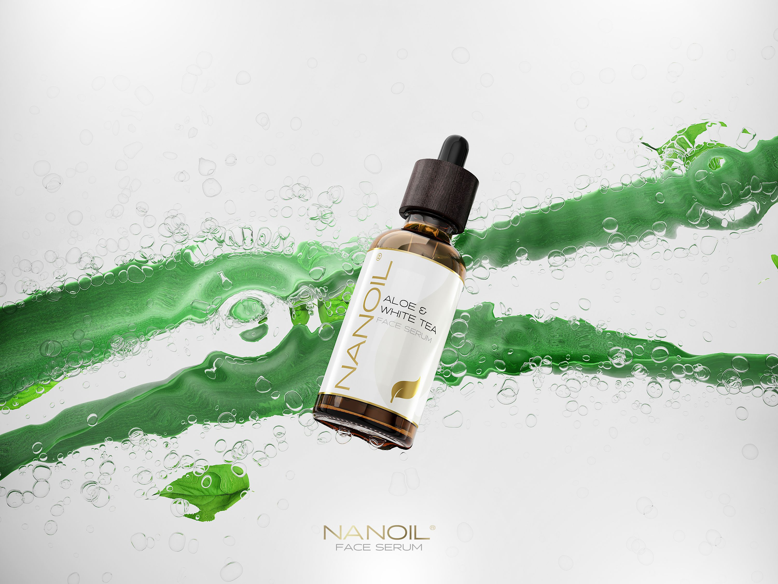 nanoil face serum with aloe vera