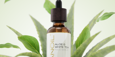 nanoil aloe and white tea face serum