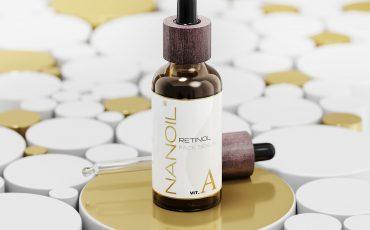 face serum with retinol Nanoil